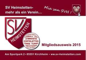 Mitgliedsausweis SVH