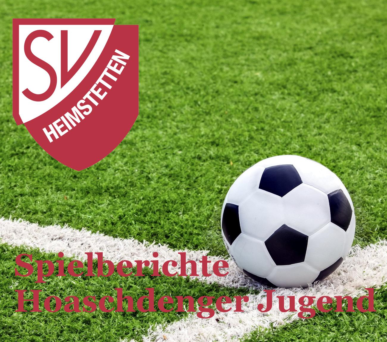 Jugend: Ergebnisse & Spielberichte vom Wochenende 18. + 19. Mai 2019