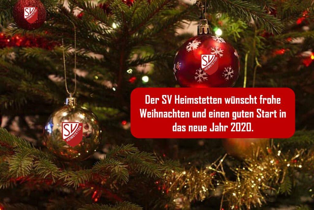 SVH: Frohe Weihnachten und schönes neues Jahr!