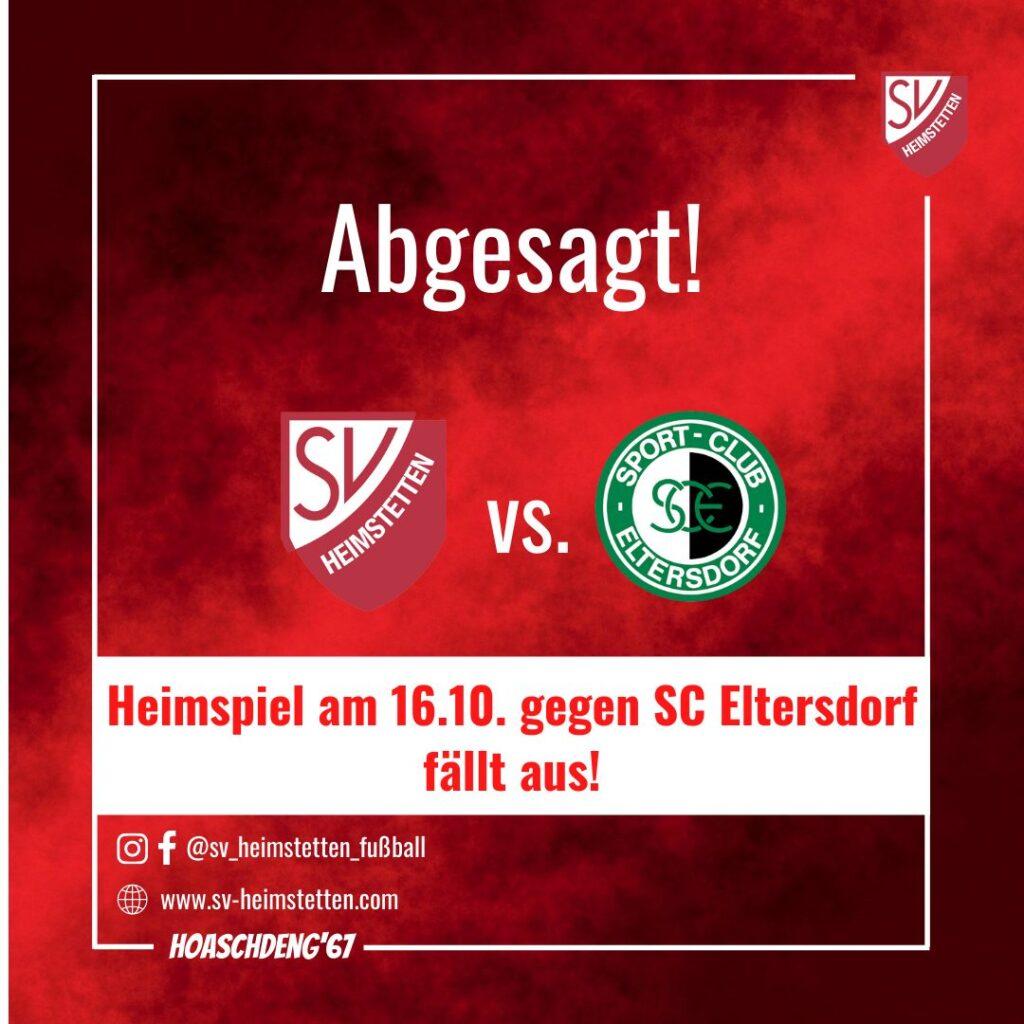 Regionalliga: Spielabsage