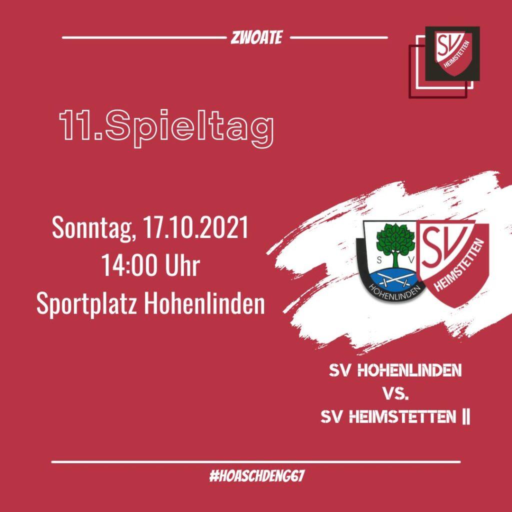 SVH: Zwoate gegen Hohenlinden & Junioren-Spiele